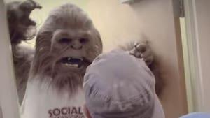 Wildlife Park Gatorland Introduces Social Distancing Mascot, Skunk Ape