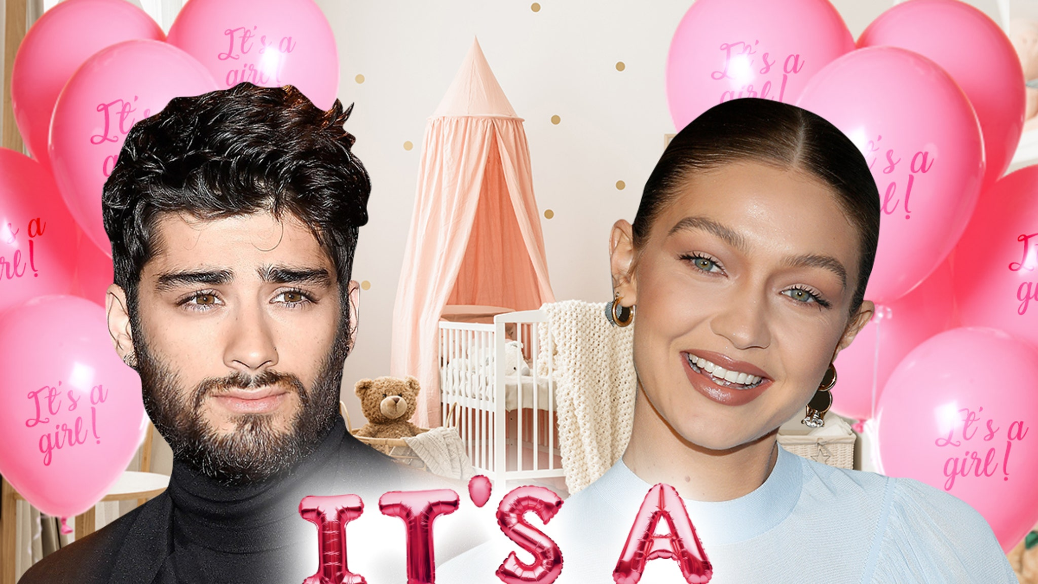 Gigi Hadid and Zayn Malik Welcome Baby Girl