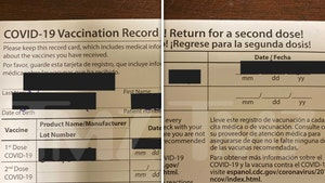 COVID-19 Vaccine Comes with Critical Facts Sheet, Reminder Cards for 2nd Dose