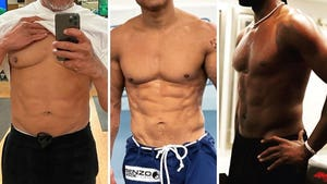 Hot Celebrity Dad Bods -- Guess Who!