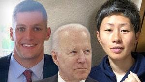 President Joe Biden Praises Carl Nassib and Kumi Yokoyama for Coming Out