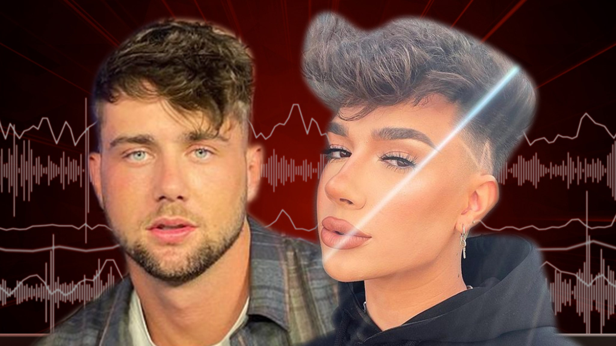 Harry Jowsey Calls James Charles Homophobic Slur on Podcast thumbnail