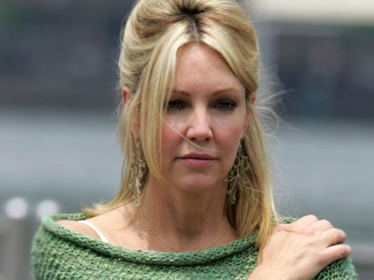 Heather Locklear Admits to Batteries on Deputies, Medic in Thousand Oaks