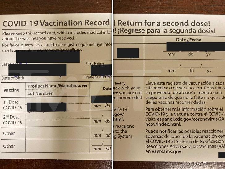 Pfizer's COVID-19 Vaccination Card