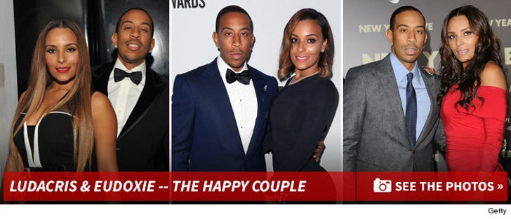Ludacris & Eudoxie -- The Happy Couple