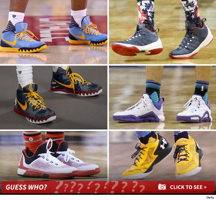 Guess Whose NBA Kicks