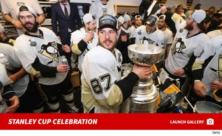 Pittsburgh Penguins' Stanley Cup Celebration