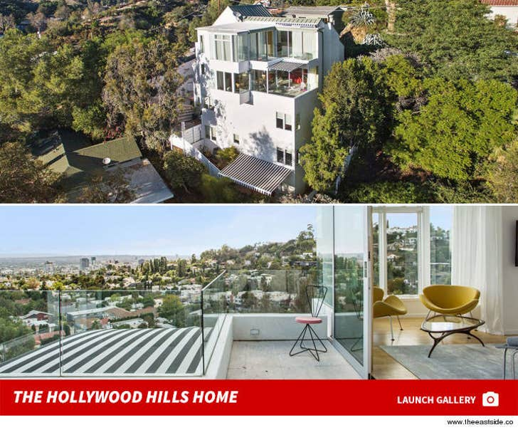 Diplo's Hollywood Hills House