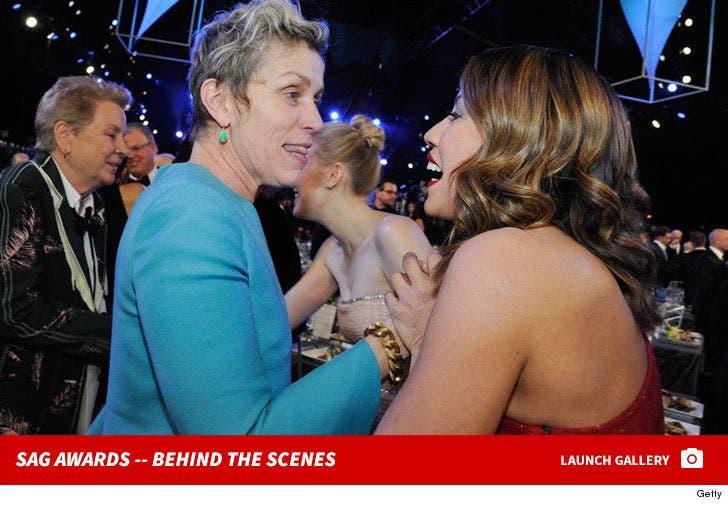 2018 Screen Actors Guild Awards -- Behind the Scenes