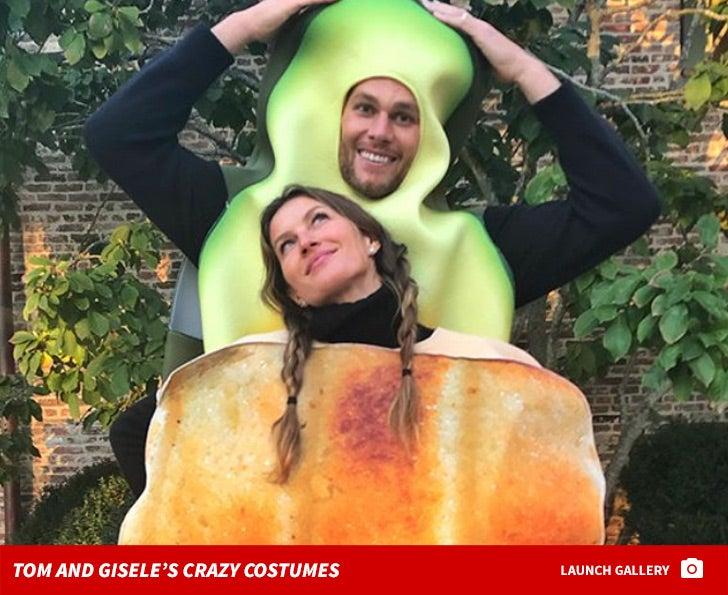 Tom Brady and Gisele Bundchen's Crazy Costumes