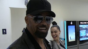 Shemar Moore Says Grammy Date Anabelle Acosta Should Squash Gay Rumors