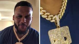 Aaron Donald Got $250,000 Diamond Chain Made Before MVP-Caliber Season