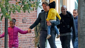 Bradley Cooper Hangs Out with Dave Chappelle in NYC