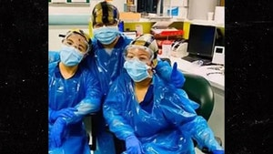 Nurses in England Wearing Trash Bags to Protect from Coronavirus