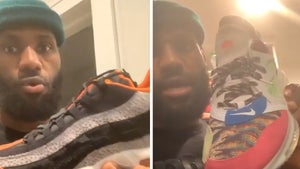 LeBron James Gives Tour Of His Nike Shoe Vault On Air Max Day