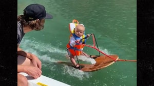 6-Month-Old Baby Goes Waterskiing, Parents Say He's World's Youngest