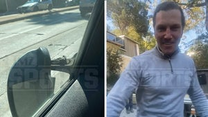 NHL's Sean Avery Busts Man's Car Mirror In Heated Dispute, But Claims He's The Victim