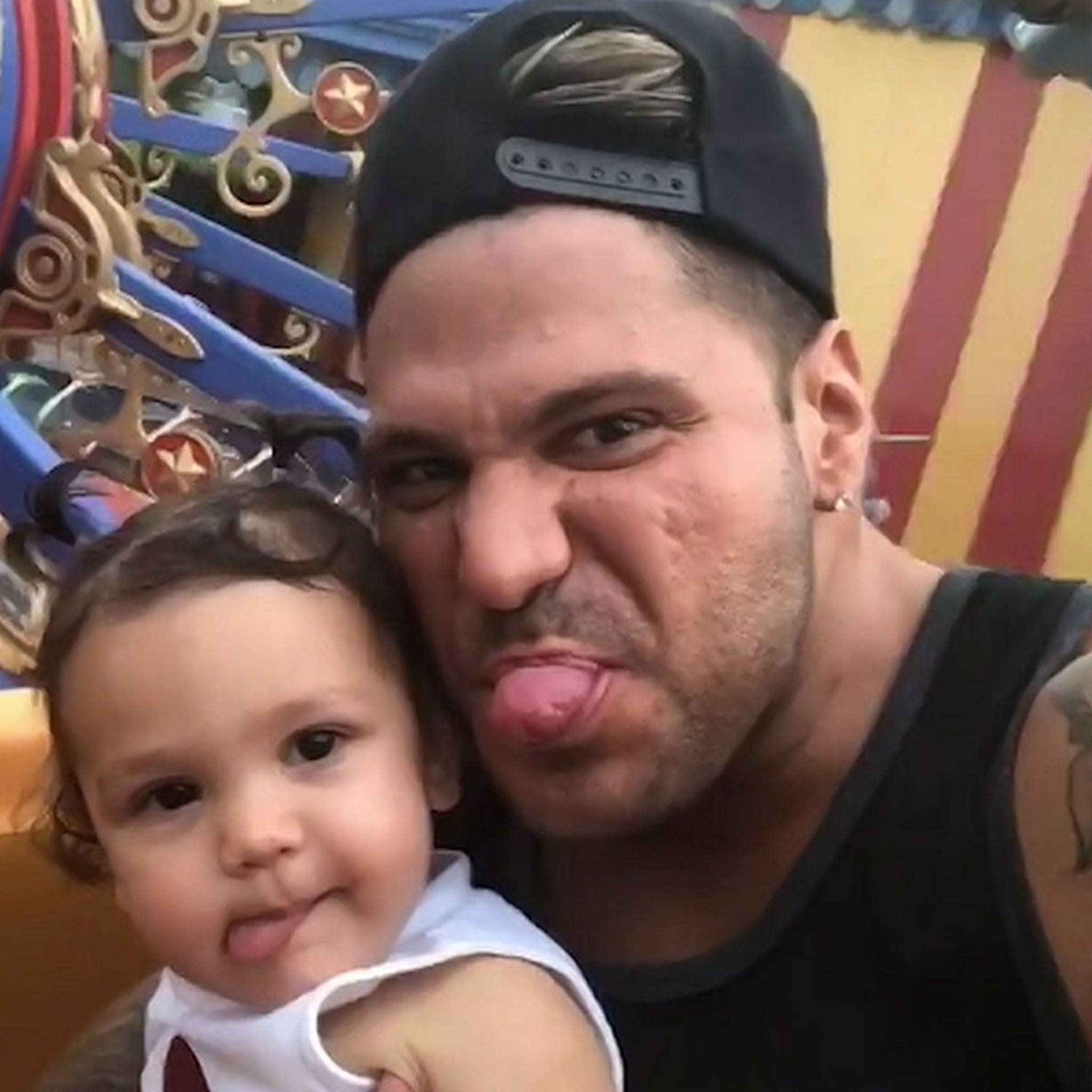 Ronnie Ortiz-Magro Reunites with Daughter, Protective Order Expired