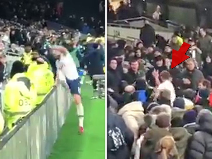 Mourinho unhappy as Dier storms stands to confront Spurs fans
