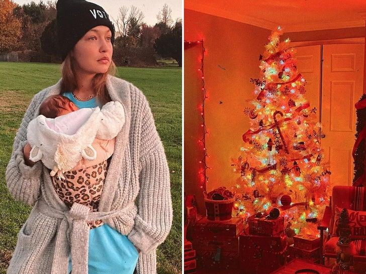 Gigi Hadid and Her Holiday Gift