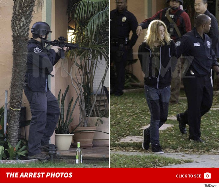 Wes Scantlin Arrest Photos