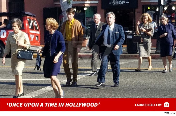 Behind the Scenes of 'Once Upon a Time in Hollywood'