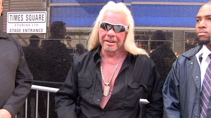 Dog The Bounty Hunter's Tackling Grief by Staying Busy