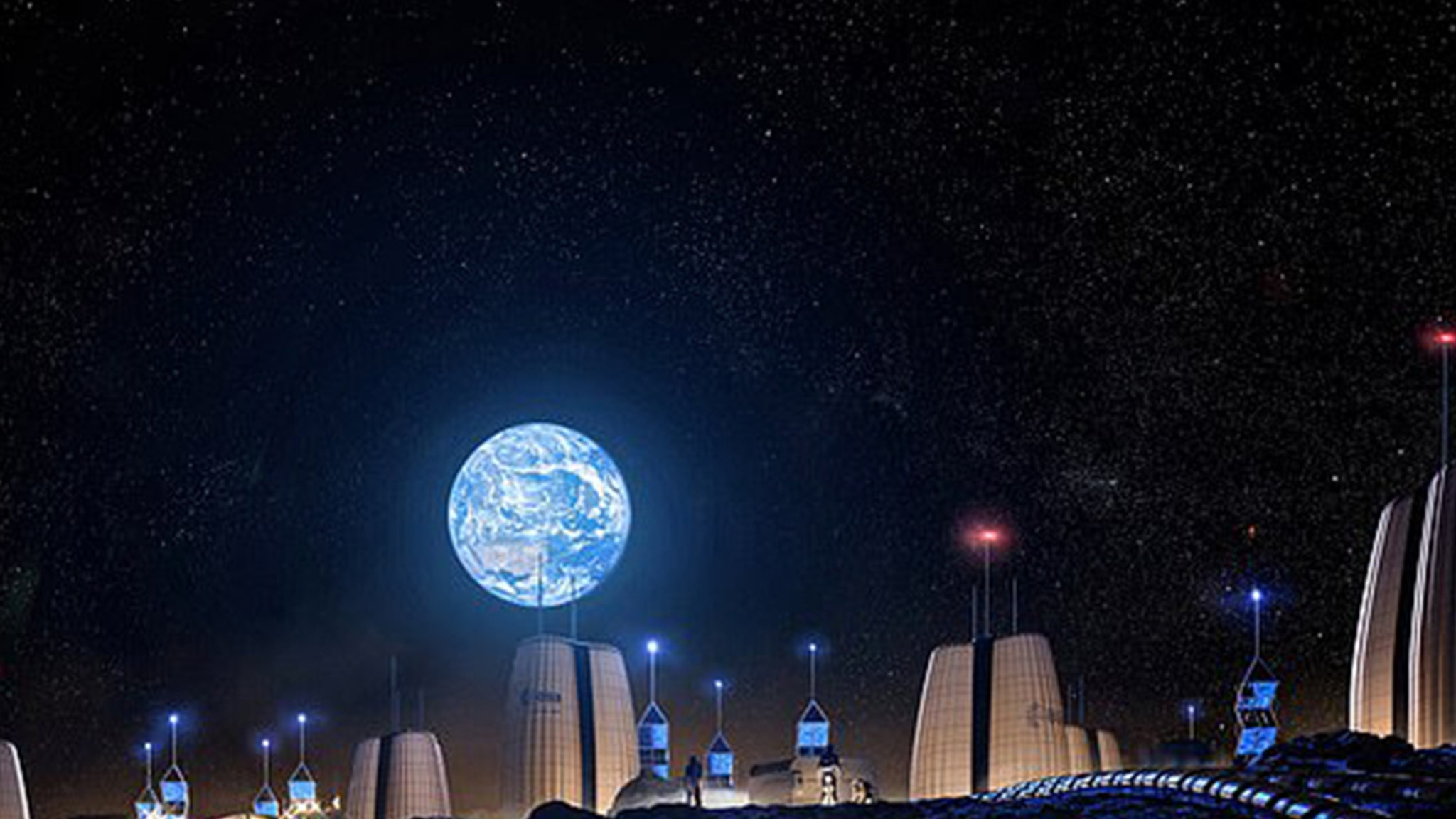 Space Exploration Moon Colony Planned to House Astronauts