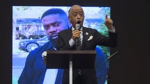 Al Sharpton Demands Release of Video at Andrew Brown Jr.'s Funeral