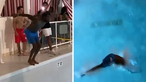 Meek Mill Botches Dive Attempt At Water Park