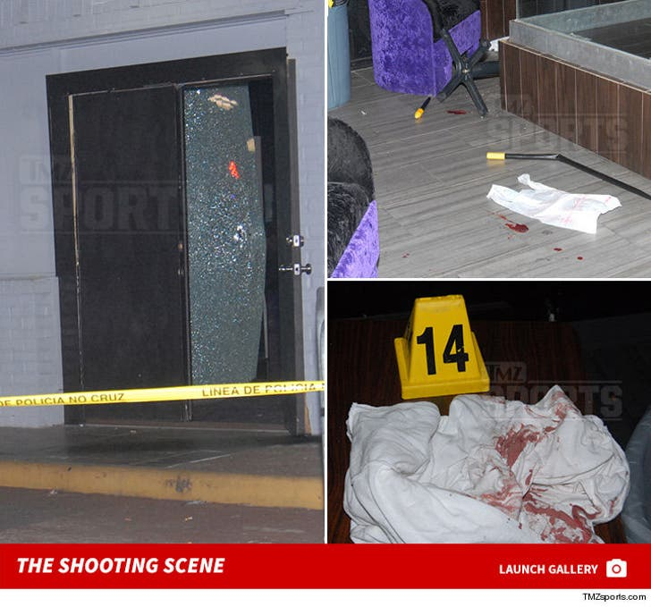 Aqib Talib Shooting Case -- The Bloody Strip Club Photos