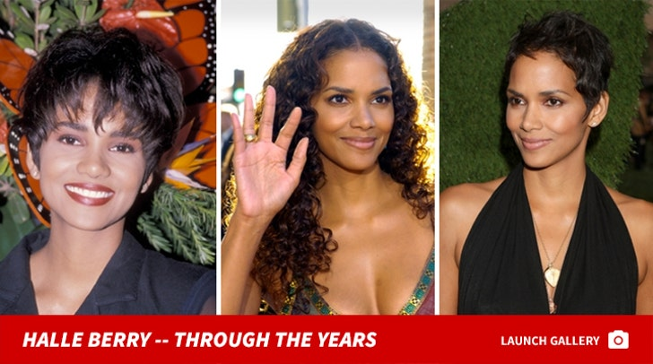 Halle Berry -- Through The Years