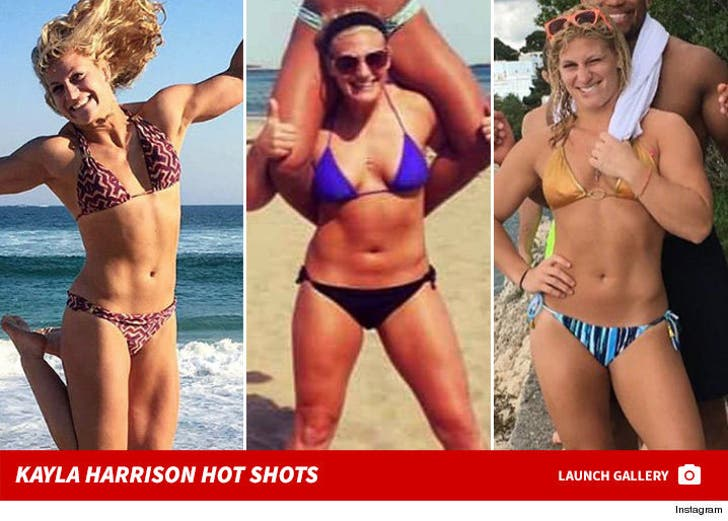 Kayla Harrison -- Hot Shots