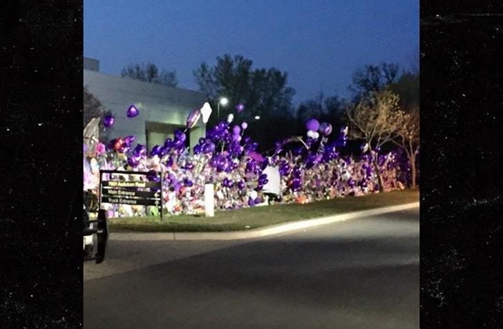 Prince's Death Marked by Morris Day, Fans at Paisley Park