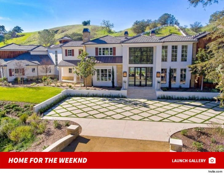 The Weeknd's Private Pad