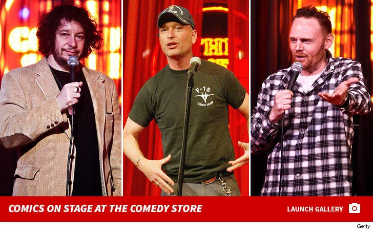 Comics on Stage at The Comedy Store