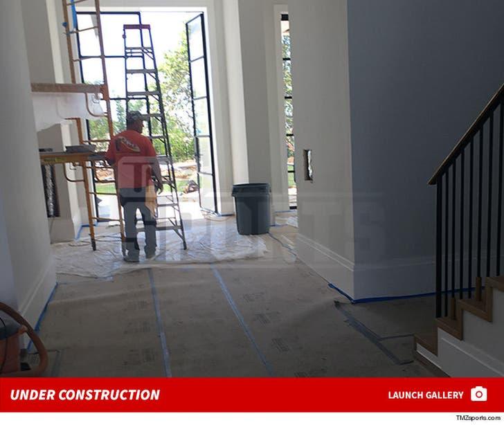 LeBron James' New House -- Under Construction