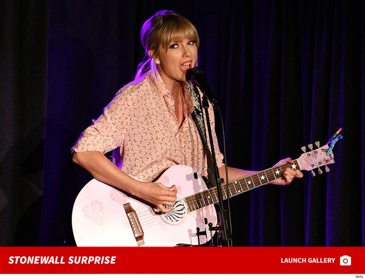 Taylor Swift Surprises Fans At Stonewall
