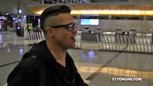 Brad Pitt -- Looking High and Tight ... 'Cause It's Fashion, Baby!