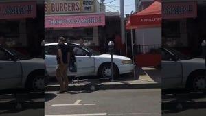 Blac Chyna Car Crash Accident Scene Photos