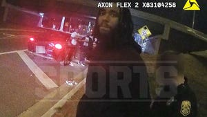 NFL's Ventell Bryant Arrest Video, Cop Says WR Bombed 'Every Single' DUI Test