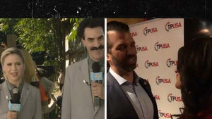 Sacha Baron Cohen's 'Borat' Daughter Got into White House, Met Don Jr. at Fundraiser