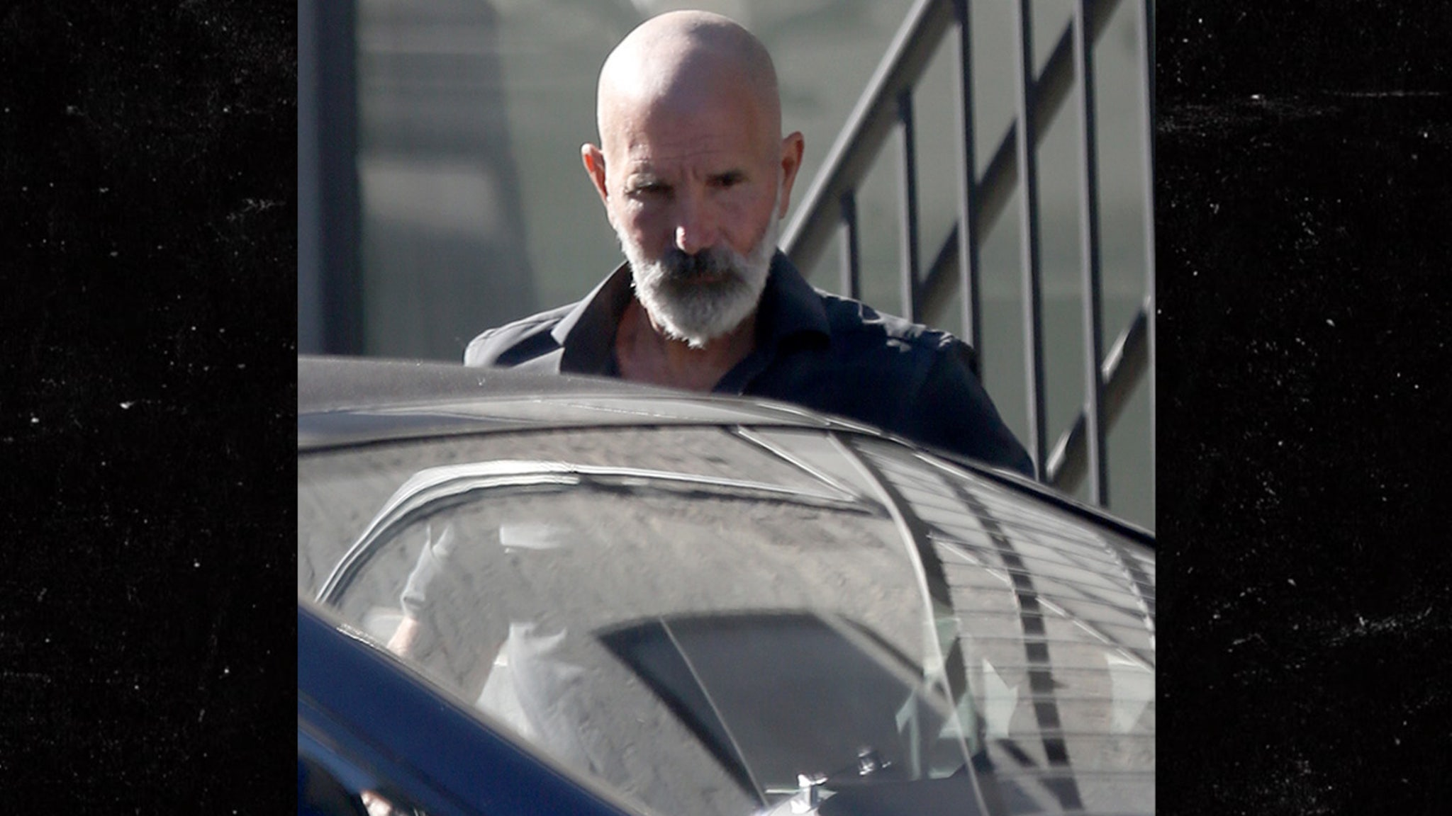 Mossimo Giannulli New Tough-Guy Look for Prison ... Gray Beard and Buzz Cut