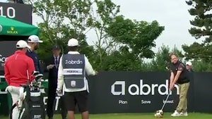 Golf Fan Ejected For Stealing Rory McIlroy's Club In Bizarre Scene At Scottish Open