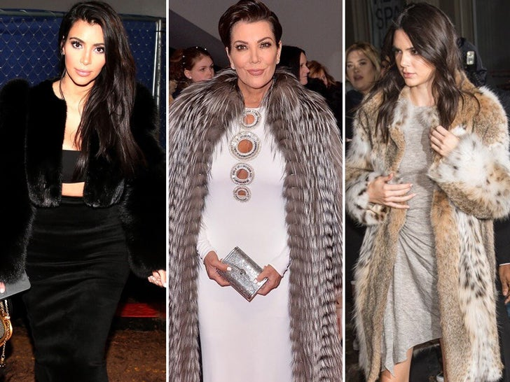 Kardashians Wearing Fur