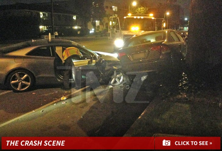 Jake T. Austin's Nasty Hit-n-Run Crash