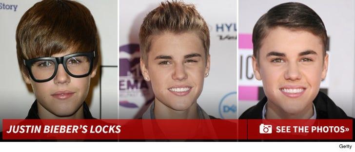Justin Bieber's Locks -- Through The Years