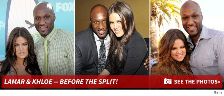 Lamar Odom and Khloe Kardashian Photos