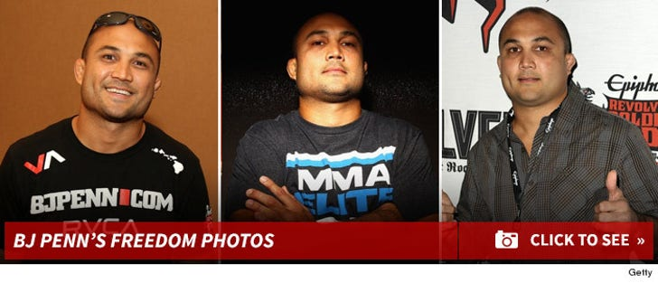 BJ Penn's Freedom Photos