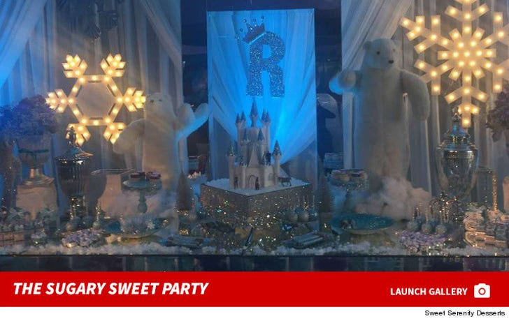 Royalty's Sweet Birthday Party